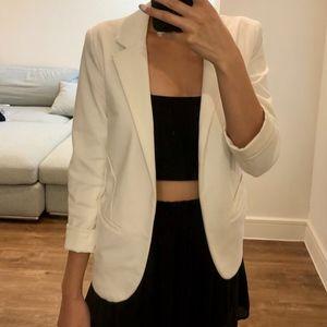 Jackets & Blazers - Inbdue White Blazer